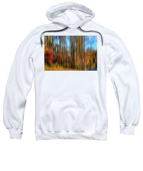 Skinny Forest Swipe Sweatshirt
