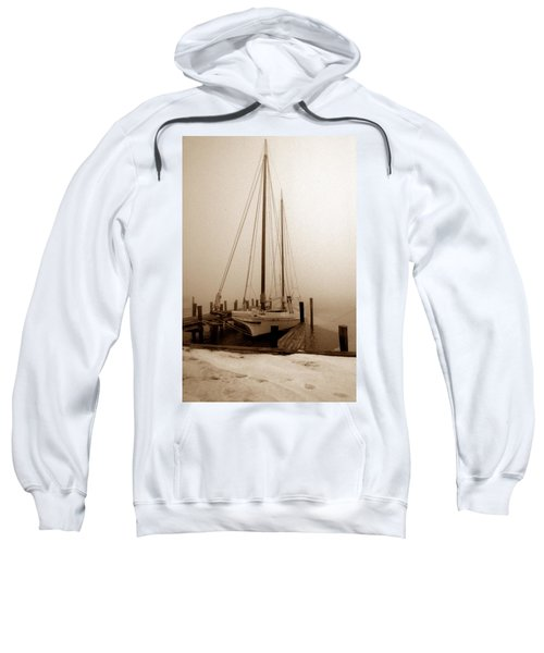 Skipjack Sepia Sweatshirt