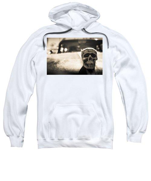 Skull Car Sweatshirt