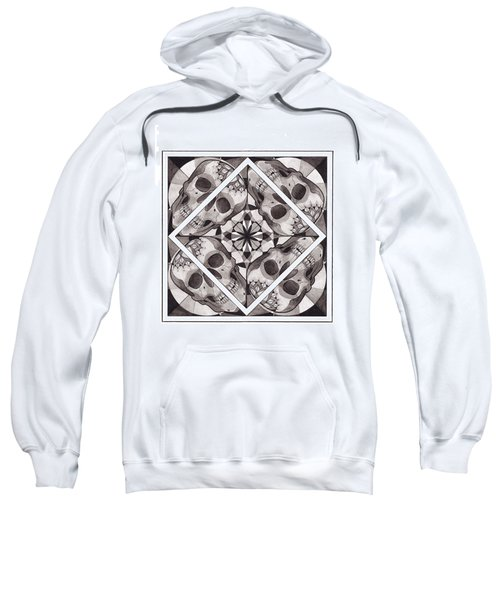 Skull Mandala Series Number Two Sweatshirt
