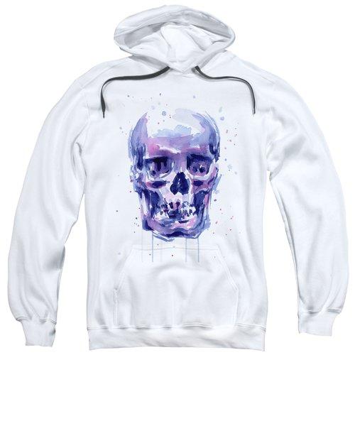 Skull Watercolor Sweatshirt