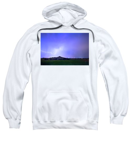 Sweatshirt featuring the photograph Sky Monster Above Haystack Mountain by James BO Insogna