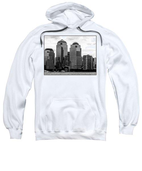 Skyline Nyc River View  Sweatshirt