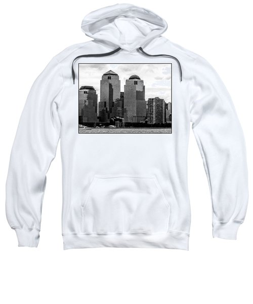 Skyline Nyc River View  Sweatshirt