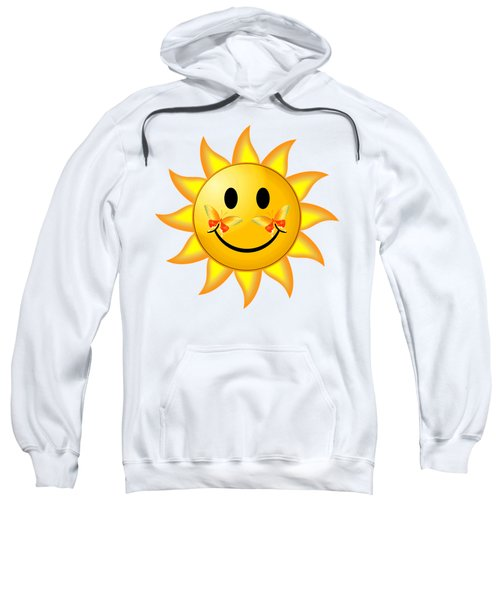 Smiley Face Sun Sweatshirt