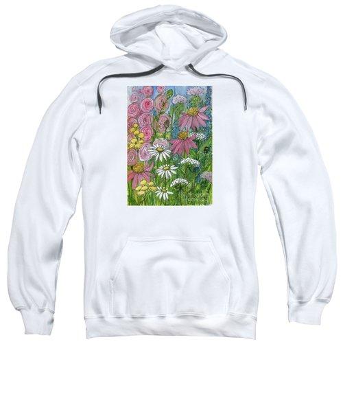 Smiling Flowers Sweatshirt