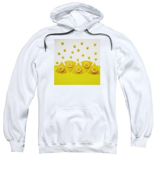 Yellow Snack Sweatshirt by Ann Foo
