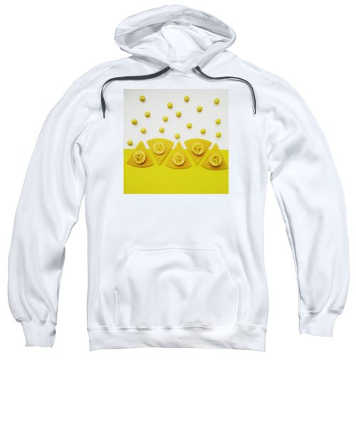Yellow Snack Sweatshirt
