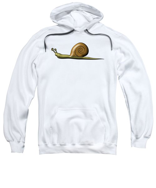 Snail Sweatshirt by Michal Boubin