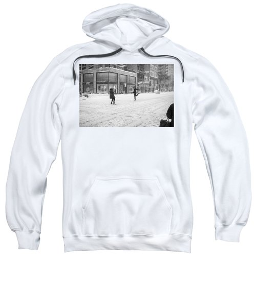 Snow Dance - Le - 10 X 16 Sweatshirt