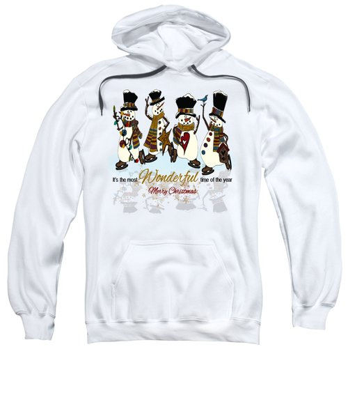 Snow Play Sweatshirt by Tami Dalton