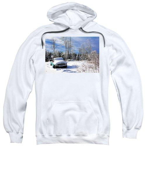 Snow Truck Sweatshirt