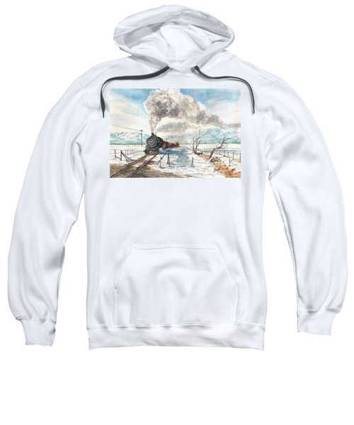 Snowy Crossing Sweatshirt