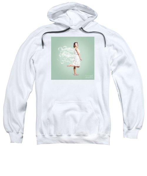 Soap Suds Pin Up Girl Sweatshirt