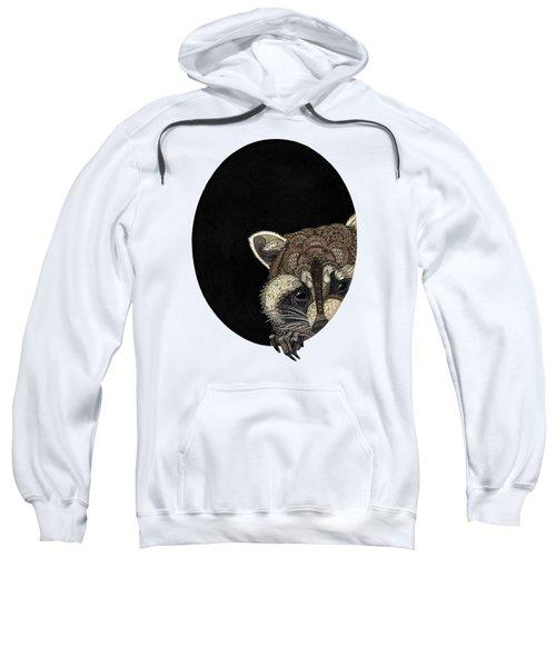 Socially Anxious Raccoon Sweatshirt