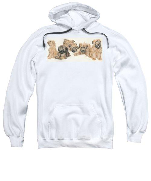 Soft-coated Wheaten Terrier Puppies Sweatshirt