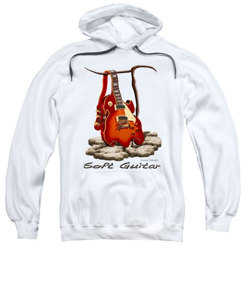 Soft Guitar - 3 Sweatshirt by Mike McGlothlen
