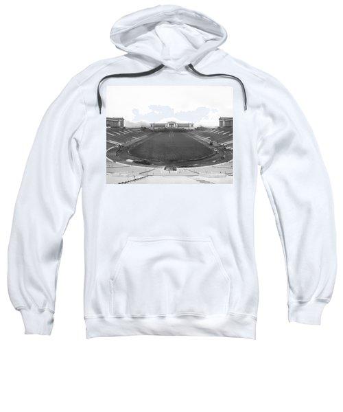 Soldier Field In Chicago Sweatshirt by Underwood Archives