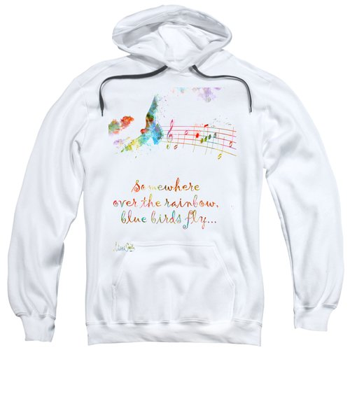 Somewhere Over The Rainbow Sweatshirt by Nikki Smith