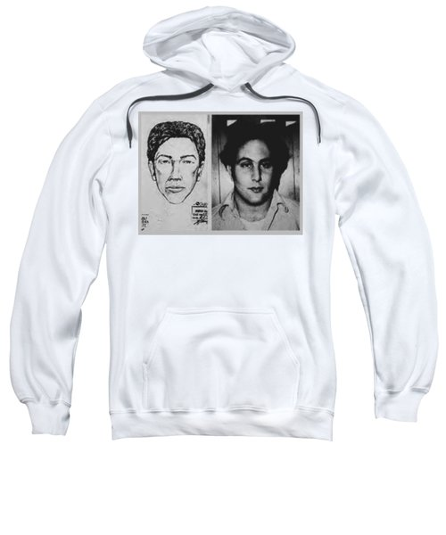 Son Of Sam David Berkowitz Mug Shot And Police Sketch Sweatshirt