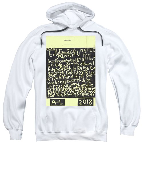 Song Notes Title Page A-l Sweatshirt