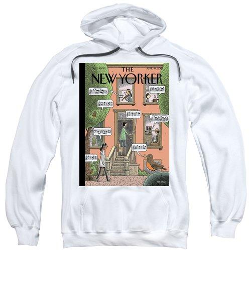 Soundtrack To Spring Sweatshirt