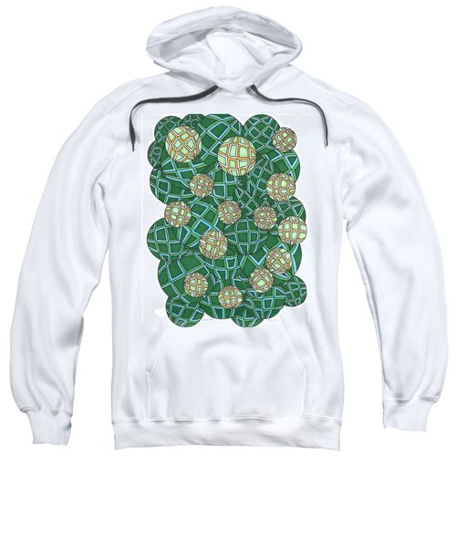 Spheres Cluster Green Sweatshirt