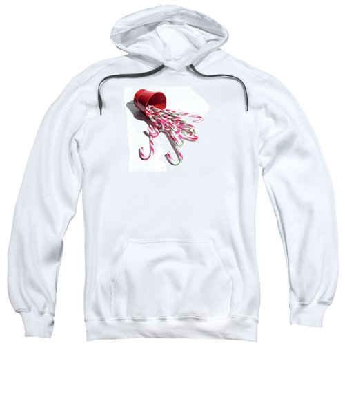Spilled Candy Canes Sweatshirt