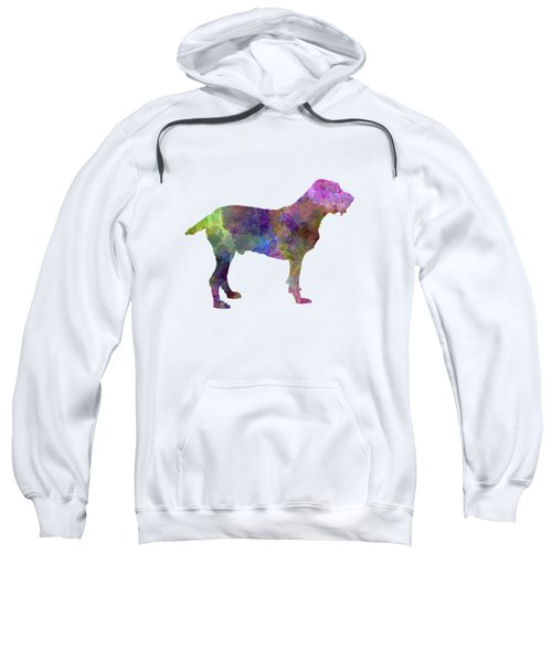Spinone In Watercolor Sweatshirt by Pablo Romero