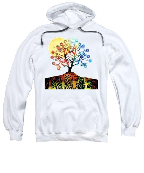 Spiritual Art - Tree Of Life Sweatshirt