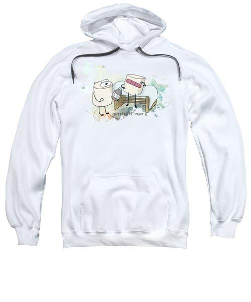 Spoonful Of Sugar Words Illustrated  Sweatshirt