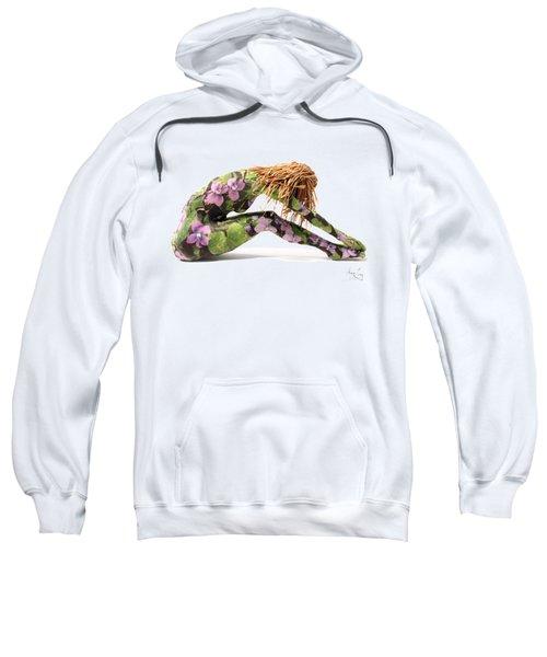 Spring Awakens Sculpture Sweatshirt