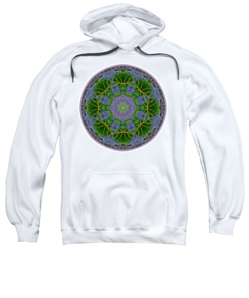 Spring Bloom Colors Mandala Sweatshirt