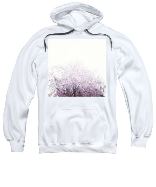 #spring #flowers #tree #college #pink Sweatshirt