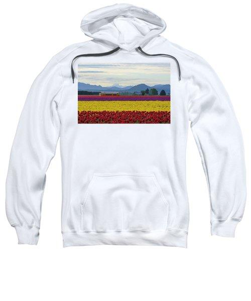 Spring In Skagit Valley Sweatshirt