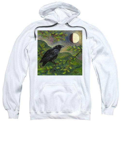 Spring Moon Raven Sweatshirt