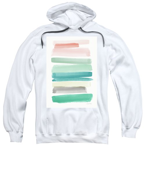 Spring Sky- Art By Linda Woods Sweatshirt
