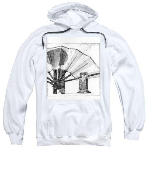 Spirit Of Japan. Fan And Matchbox Sweatshirt