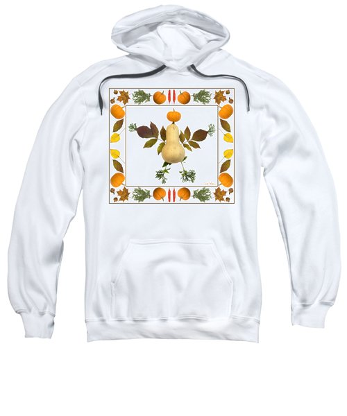 Squash With Pumpkin Head Sweatshirt