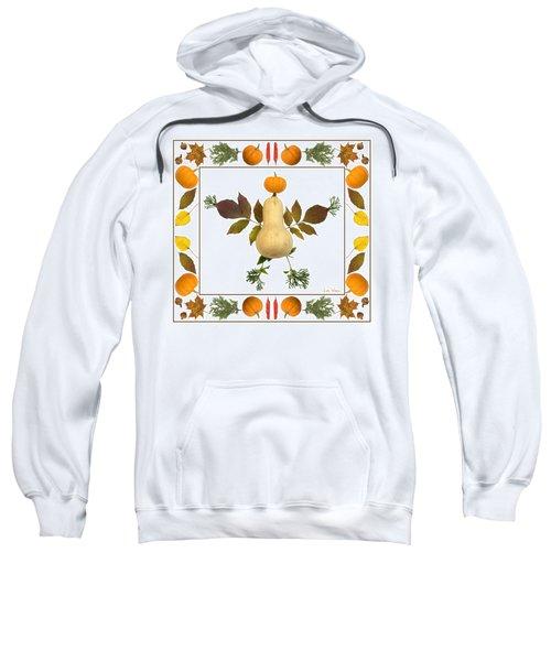 Squash With Pumpkin Head Sweatshirt