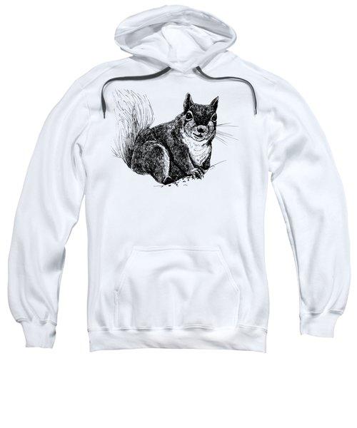 Squirrel Drawing Sweatshirt
