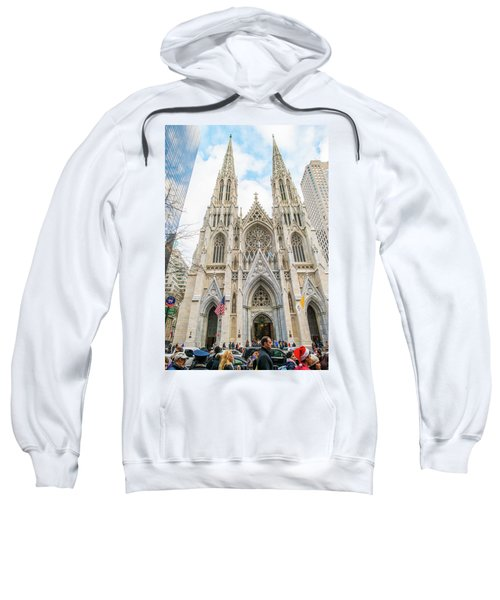 St. Patrick Cathedral In New York Sweatshirt
