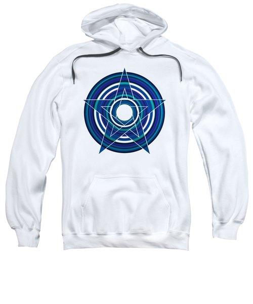 Star Marine Over Concentric Circles Sweatshirt