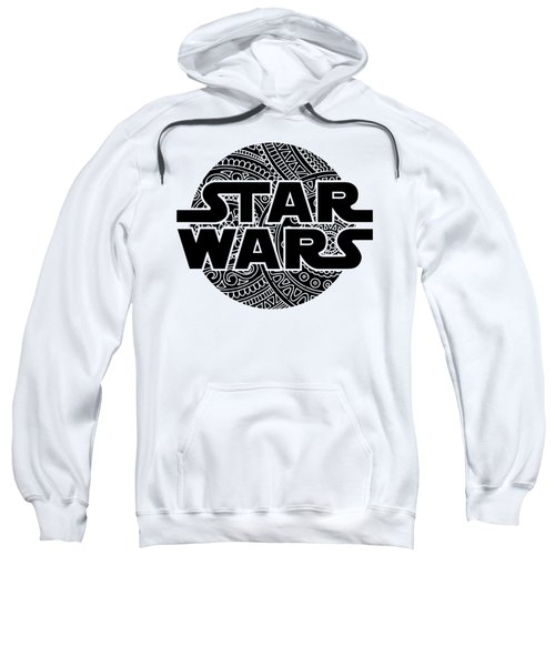 Star Wars Art - Logo - Black Sweatshirt