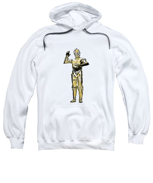 Star Wars C-3po Droid Tee Sweatshirt