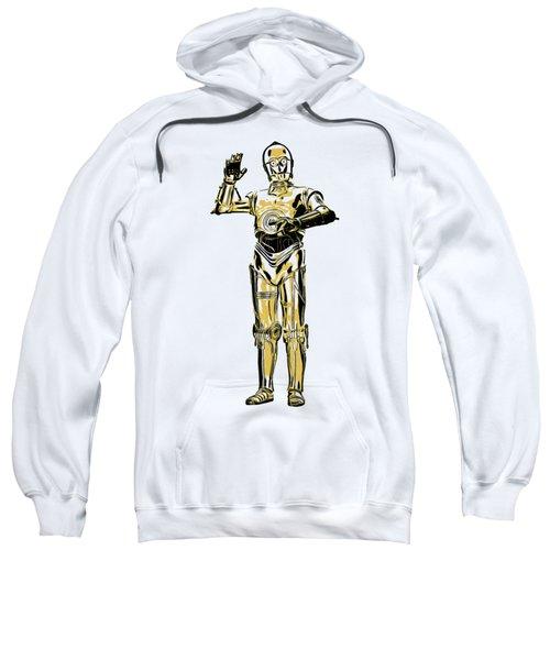 Star Wars C-3po Droid Tee Sweatshirt