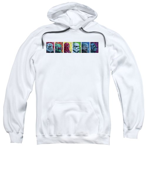 Star Wars Helmet Series - Panorama Sweatshirt by Aaron Spong