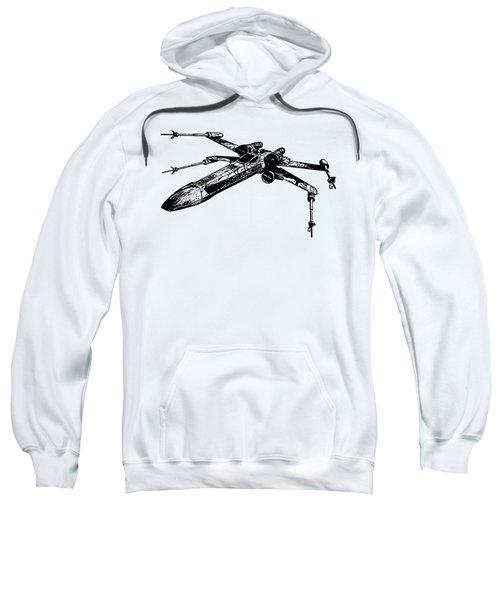 Star Wars T-65 X-wing Starfighter Tee Sweatshirt by Emf