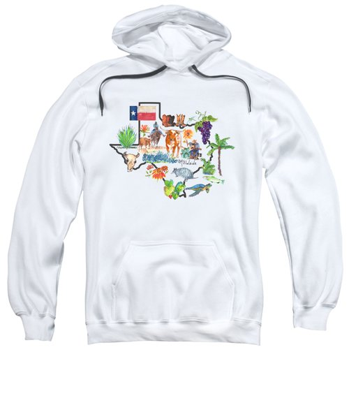 State Of Texas As I Know It Sweatshirt