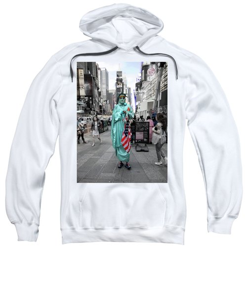 Statue Of Liberty Guy Sweatshirt